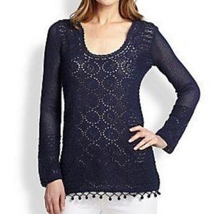 NWT Lilly Pulitzer Athena Tunic Sweater Size XS